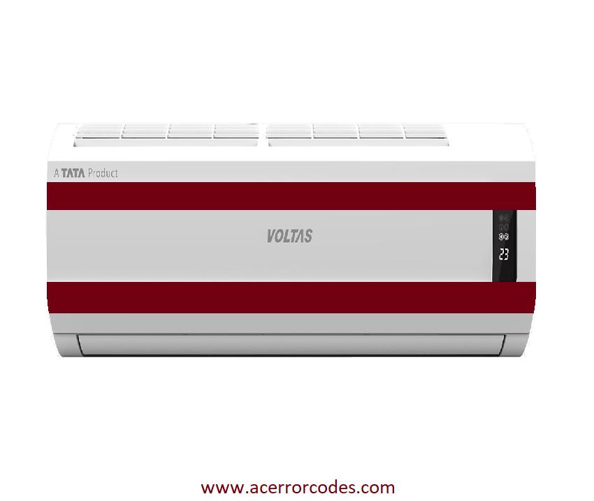 Voltas Air Conditioner Error Code Hvac Technology